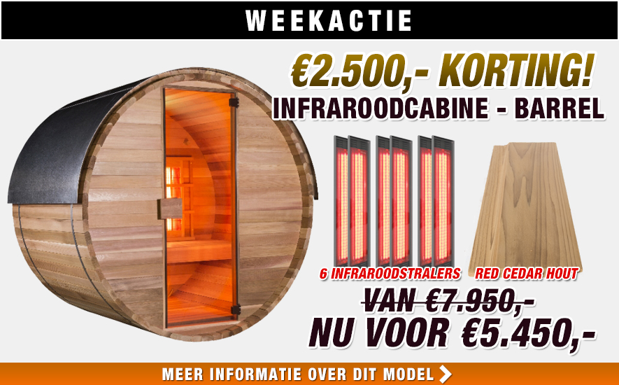 Weekactie Alpha barrel
