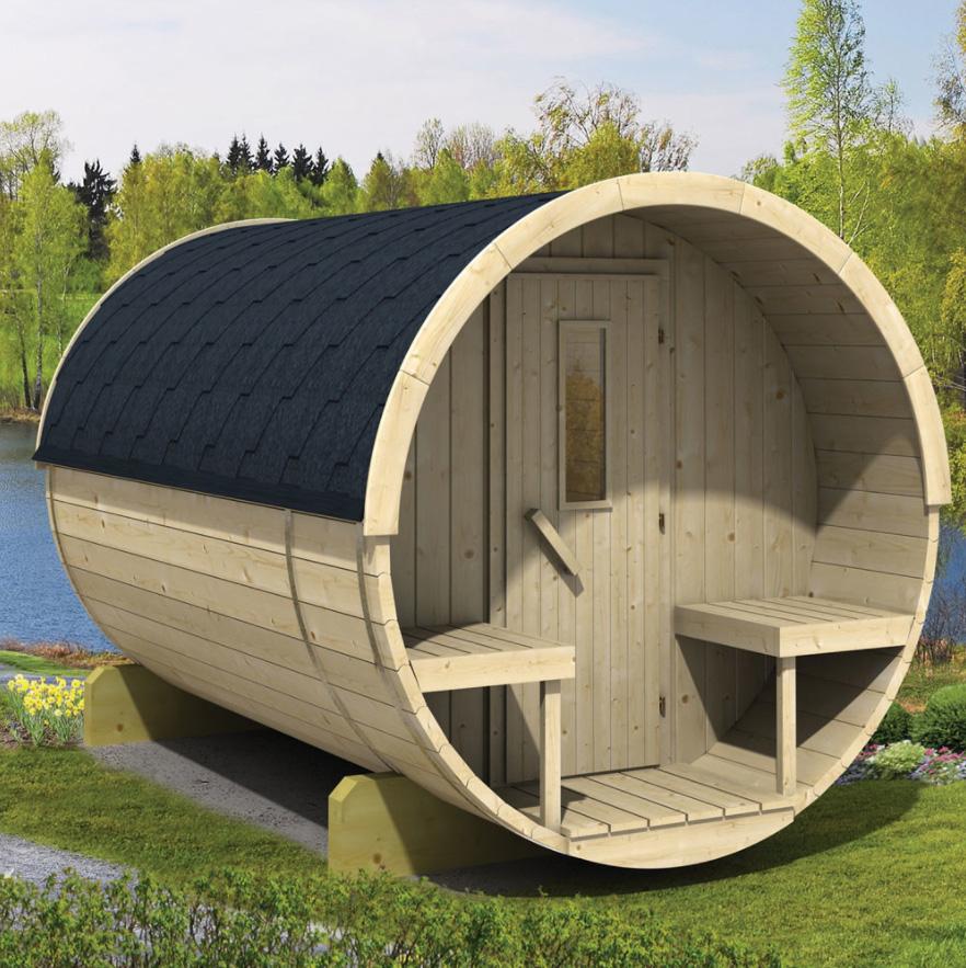 Barrel sauna 250/300
