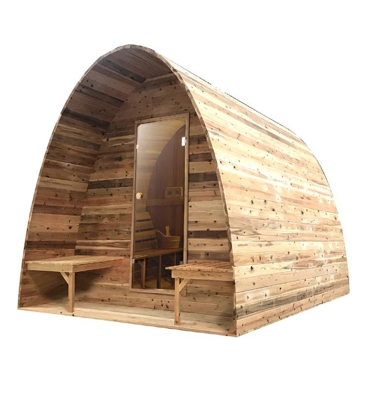 Sauna pod Red Cedar Knotty - Infra4Health