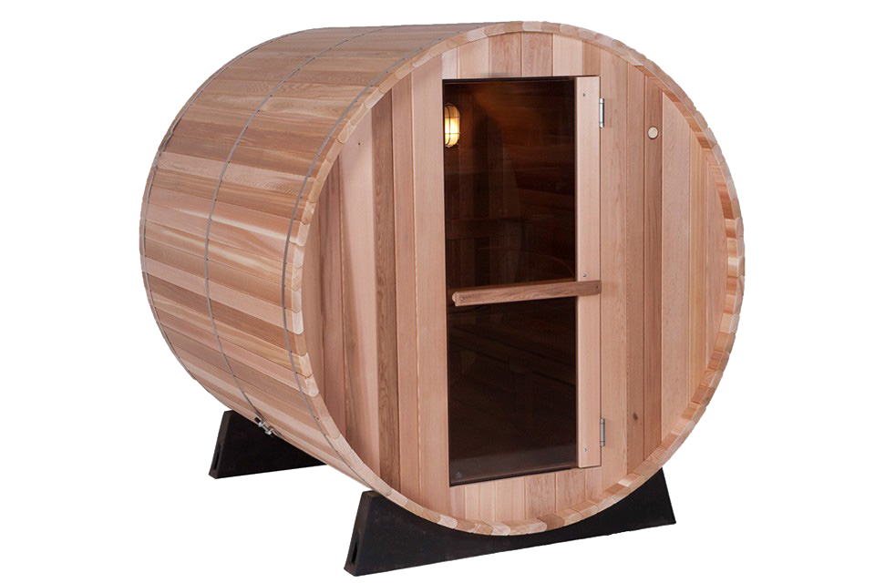 almost heaven barrel sauna regular sunspa sauna. Black Bedroom Furniture Sets. Home Design Ideas